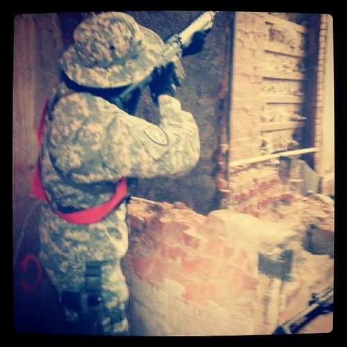 Softair Zocken Geiler Tag fun airsoft team red :p