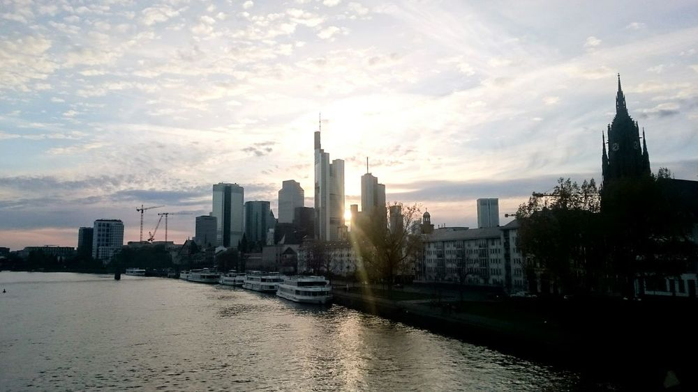 Frankfurt Am Main Frankfurt Skyline Skyline Frankfurt City Town Urban Taking Photos Urbanphotography River Architecture Building