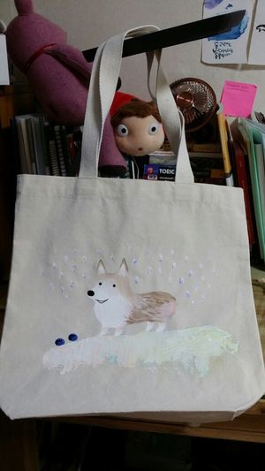 Painting Bag Art? Yoolmmo on the bag!! The only bag in the world!