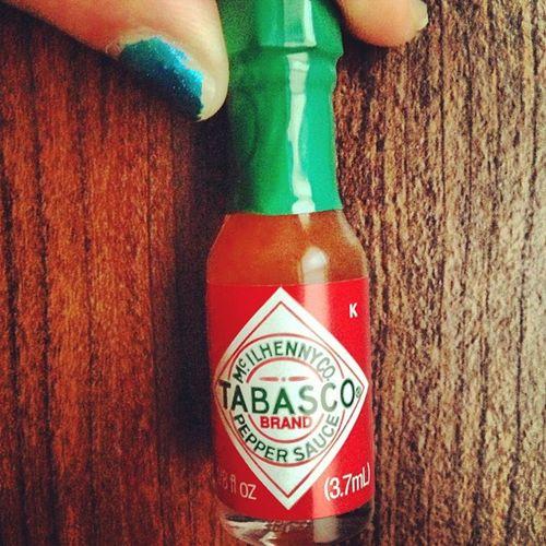 Smallest bottle of tabasco ever! Thanksdad OddGift Sosmall