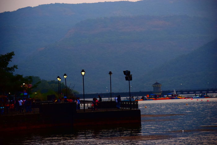 Beach Beauty In Nature Day Large Group Of People Lavasa Lavasa City Pune Lavasa Hill City Lavasacity Lavasacitypune Lavasan Lavasa📷 Men Mode Of Transport Mountain Mountain Range Nature Nautical Vessel Outdoors Scenics Sea Sky Tranquil Scene Tranquility Transportation Water