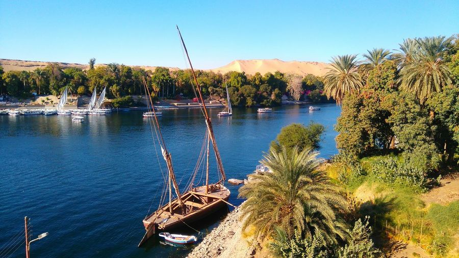 Aswan Egypt Nile River Nature Check This Out Eyeem TravelNatural Beauty EyeEm Nature Lover Travel Photography EyeEm Best Shots Boats⛵️ Relaxig Ancient City Nice View My Point Of View EyeEm Places