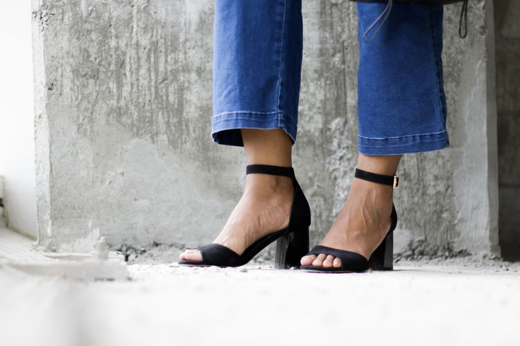 Heels Shoes ♥ Casual Clothing Close-up Day Fashion Human Body Part Human Leg Low Section One Person Outdoors Real People Shoe Shoes Standing