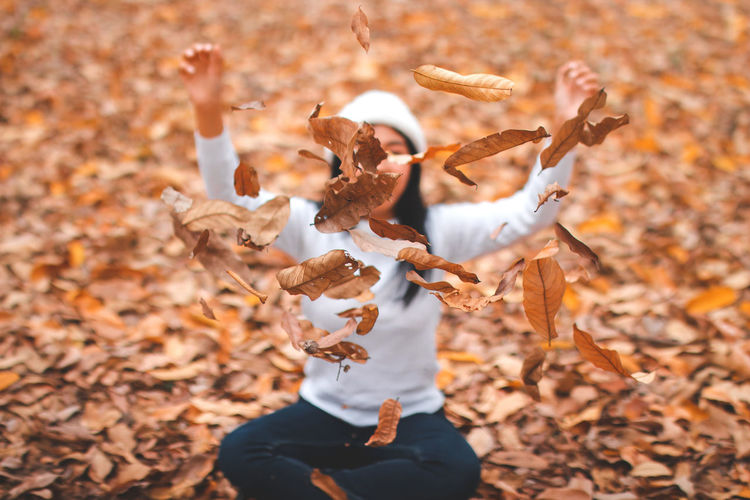 it's fall y'all. Autumn Autumn Collection Autumn colors Autumn Leaves Celebration Colors Happiness Live for the Story Amazing Autumn Autumn Colours Autumn🍁🍁🍁 Close-up Colorful Dry Forest Forest Photography Forestwalk Leaf Lifestyles Light And Shadow Nature Portrait Vulture Women