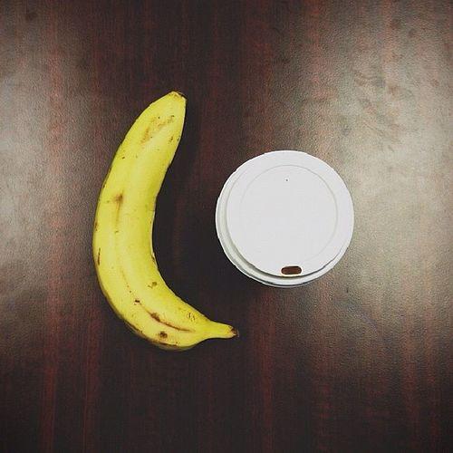 Lets get coffee milk, lets get banana, lets get breakfast