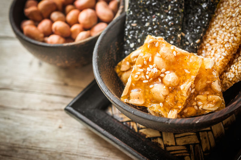 Asian Culture Asian Food Bean Bowl Culture Food Food And Drink Freshness Healthy Eating Indoors  No People Object Ready-to-eat Style Sweet Food Wood - Material