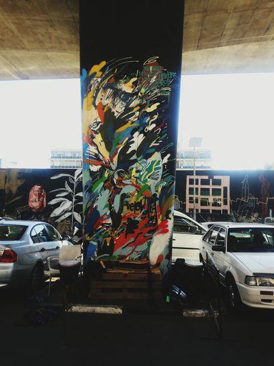 Graffiti Artstreet Johannesburg Maboneng Precinct South Africa