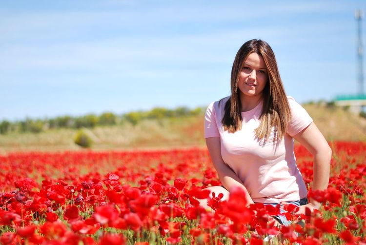 EyeEm Best Shots SPAIN Beauty In Nature Flowers Natue Outdoors Train