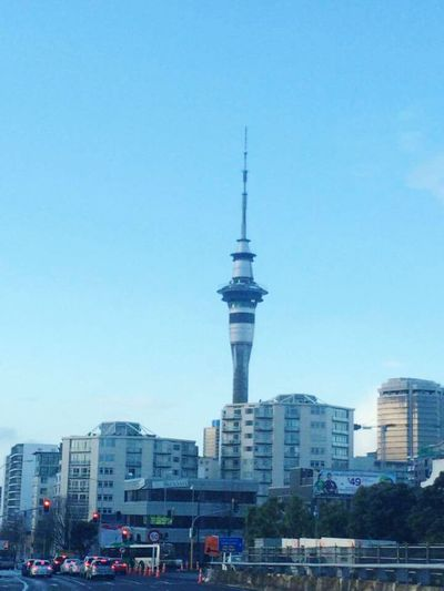 Cityscapes Auckland New Zealand SkyTower