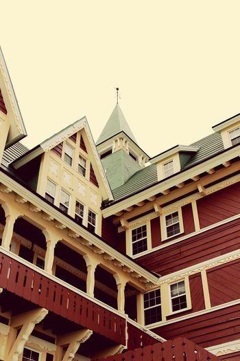 Old buildings, Waterton National park, Canada, details, No People, Hotel, Wood Building, Vintage, Another Angle