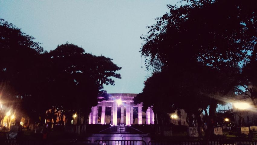 Illuminated Night Architecture No People Building Exterior