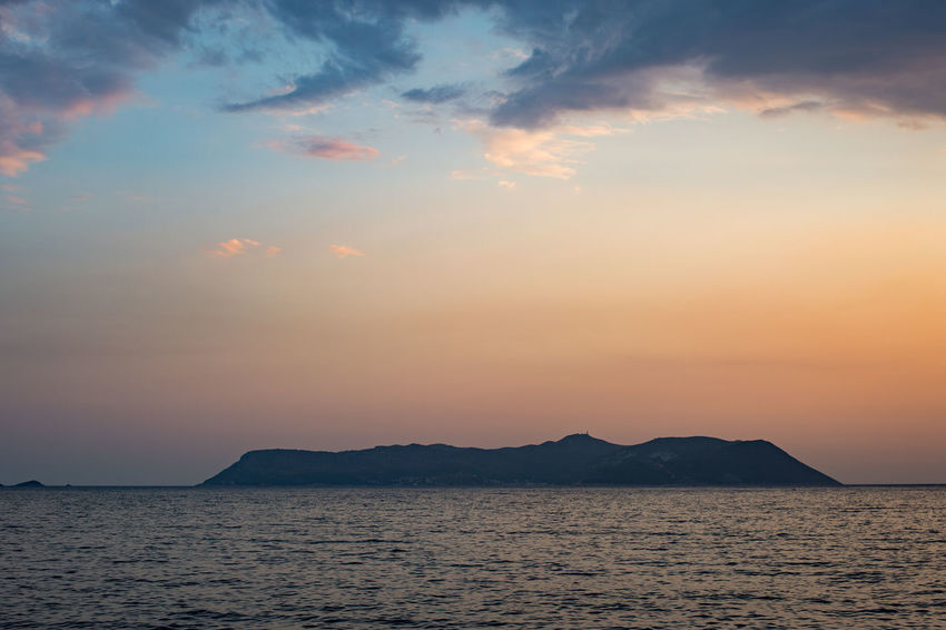 Kaş Seascape II: Kastellorizo/Meis Island Antalya Kas Landscape_Collection MEIS Beauty In Nature Clouds Idyllic Island Islandlife Kastellorizo Landscape Nature No People Outdoors Scenics Sea Seascape Seaside Sky Sunset Tranquil Scene Tranquility Waterfront The Week On EyeEm
