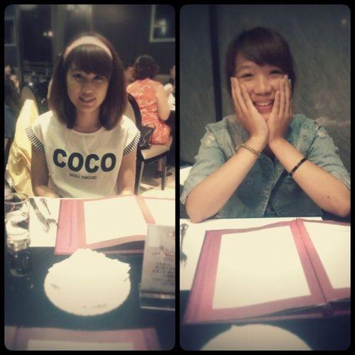 難得假期:) 歡樂天:3 台中 玫瑰夫人 姐妹 Sister taiwan girl good 女孩 假期