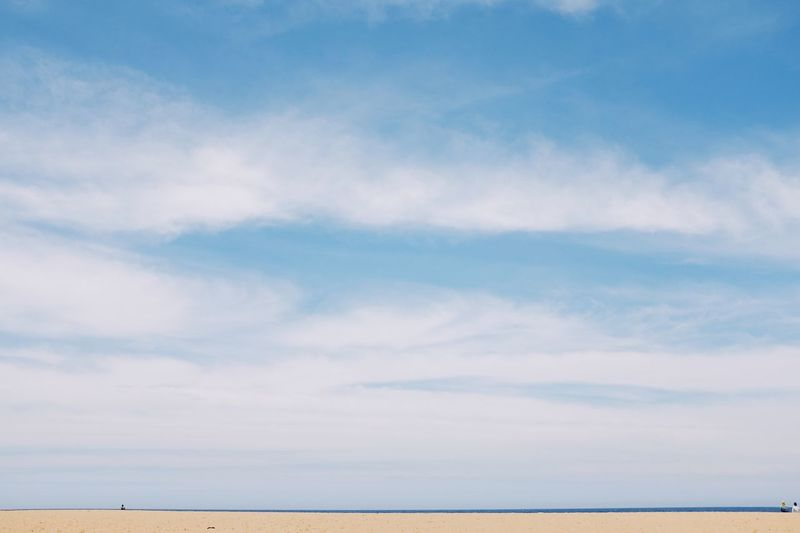 Cloud - Sky Scenics Sky Tranquility Tranquil Scene Nature Beauty In Nature No People Sea Day Water Outdoors Blue Horizon Over Water