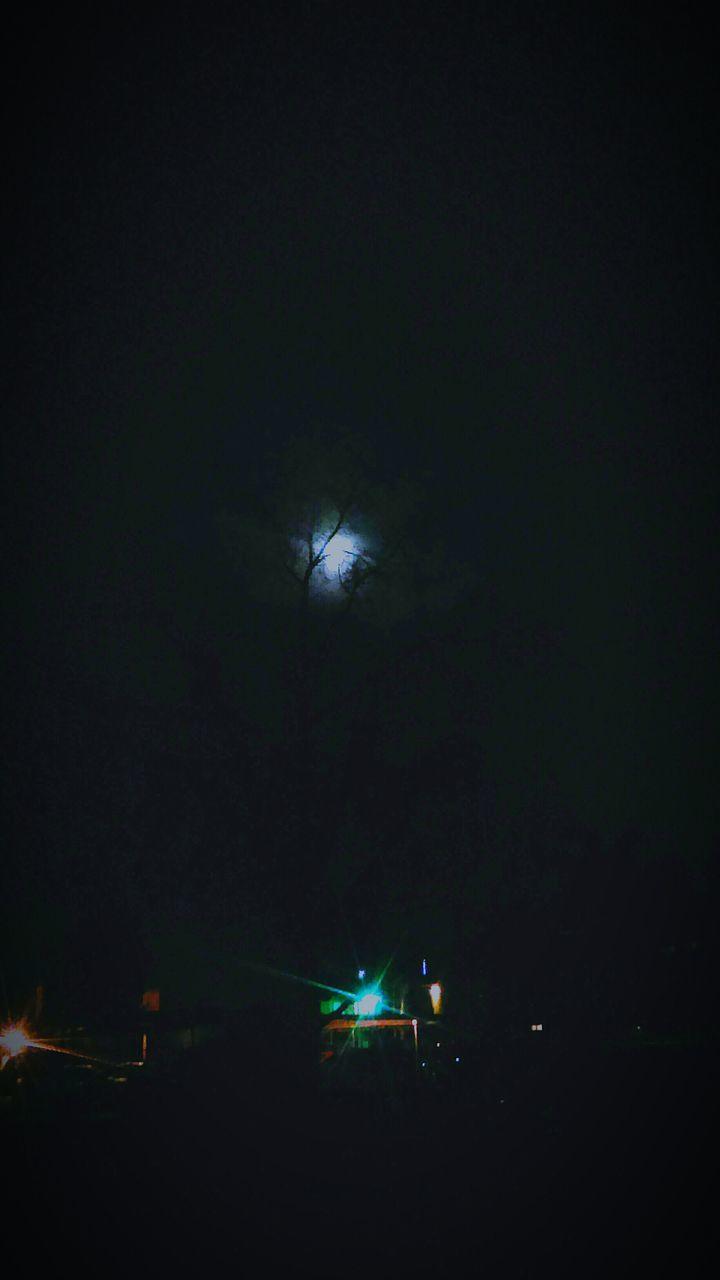 night, illuminated, dark, outdoors, sky, no people, nature
