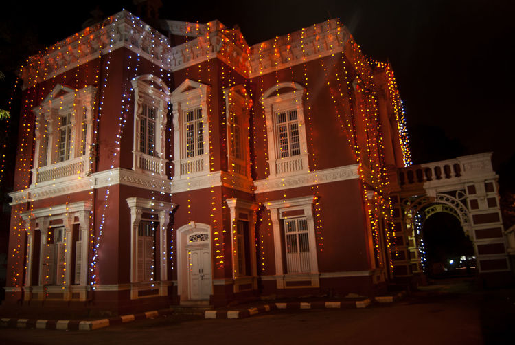 Architecture Bangalore Building Exterior Built Structure City City Life Creativity Exterior History Illuminated Incredible India India Tourism Kempegowda Museum Mg Road Bangalore Night Outdoors TakeoverContrast Tall - High Window