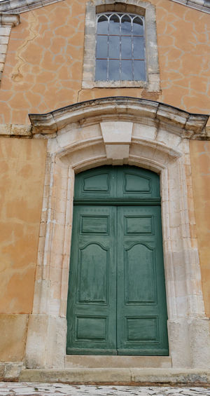 Architecture Architecture_collection Façade Colorful Colorful Houses Cityscape TOWNSCAPE Old Town Provence Ocher Ocher Color Door Window Building Exterior Built Structure Building Entrance House Closed No People Residential District Wall Day Outdoors Wall - Building Feature Low Angle View City Brick Front Door Old