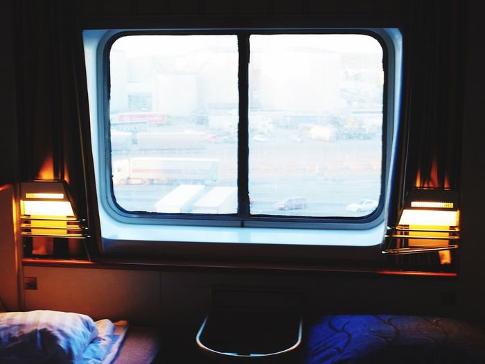Window Transportation Indoors  Day Vehicle Interior Vehicle Seat Train Interior No People Sky