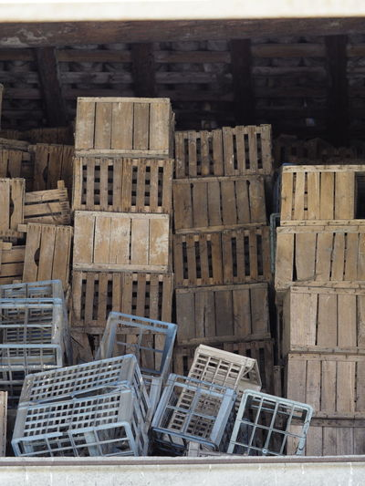 Abundance Architecture Box Building Building Exterior Built Structure Construction Industry Container Countryside Crate Day High Angle View Industry Large Group Of Objects No People Outdoors Pallet Stack Transportation Warehouse Wood - Material Wooden Box Wooden Box For Desine Wooden Box With Apples Wooden Boxes
