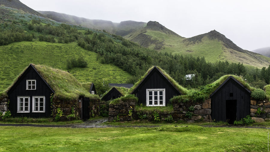 Skógar Iceland Old Farm Old Farmhouse