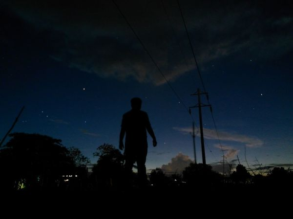 Me at the dark skies ~ Silhouette Star - Space Night One Man Only Outdoors Constellation Landscape Standing Dark Photography EyeEm Best Shots Eyeem Philippines Silence Of Nature Beauty In Nature Darkness And Light Exceptional Photographs Dramatic Landscape Check This Out First Eyeem Photo Simple Things In Life Scenery Personal Perspective Dramatic Sky From My Point Of View Philippines The Great Outdoors - 2017 EyeEm Awards The Photojournalist - 2017 EyeEm Awards Live For The Story Out Of The Box