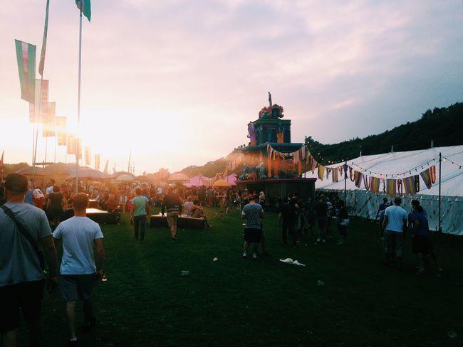 The sunshine means festival season is around the corner Festival Bestival Summer Sunset Music Good Times Festival Season Summer Fun