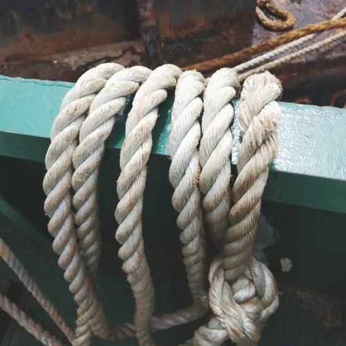 tross rope Thick Sailing Ship Nautical Equipment Nautical Vessel Braided Cleat Moored Harbor Tied Up Sea Twisted Intertwined Coiled Spring Tangled Durability Phone Cord Mooring Post Grand Canal - Venice Gondola Dock Bollard Commercial Dock Barbed Wire Interlocked Anchored Sailing Ship Pier Marina EyeEmNewHere