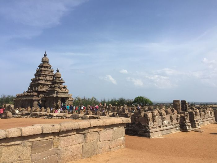 Mahabalipuram Pallava Architecture UNESCO World Heritage Site Tamilnadu Ancient Architecture Shiva Beach Temple