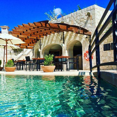 Pool Poolbar Bluesky Sun Summer Relax Enjoy Travel Lavidaloca