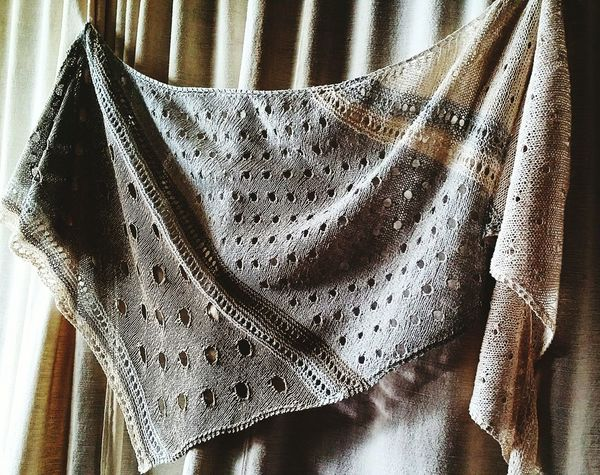 EyeEm Selects Knitting Knitting Pattern Shawl Textile Fabric Indoors  Curtain Pattern Window No People Day Close-up