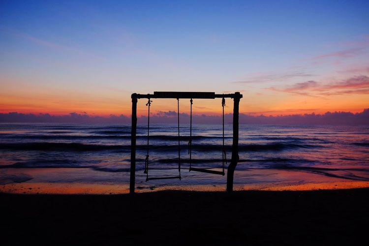 Water Sea Sunset Beach Childhood Sand Outdoor Play Equipment Lifeguard  Jungle Gym Sky
