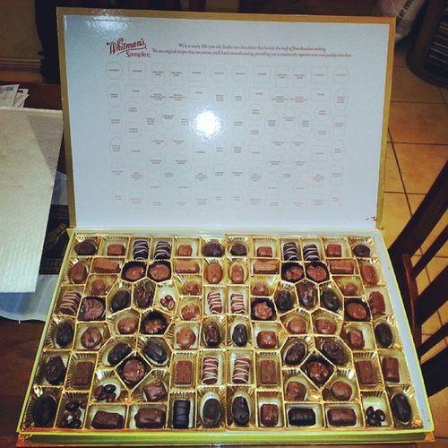 Chocolate Whitmans Yummy Fat sugar nuts love