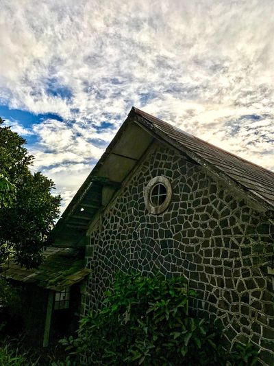 Built Structure Architecture Cloud - Sky Low Angle View Sky No People Day Religion Building Exterior Outdoors Tree The Great Outdoors - 2017 EyeEm Awards Old Old Buildings Abandoned Abandoned Buildings Nature Photography EyeEmNewHere Nature_collection Visual Feast Cloud