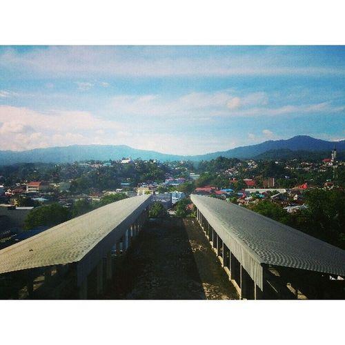 Morning view ditemani bubur Manado.. Landscape Travel Manado INDONESIA