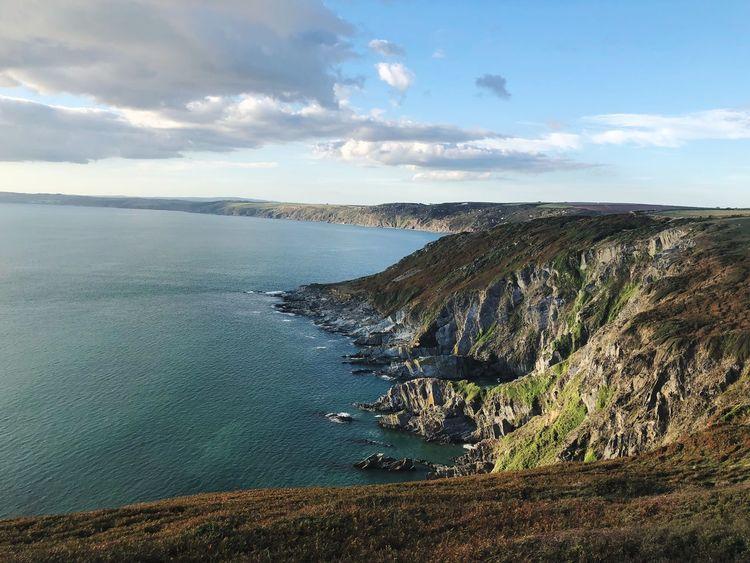 Cliffs of whitsand bay Sunset England Poldark Cornish View Rame Cornwall Coast Water Sky Scenics - Nature Sea Beauty In Nature Cloud - Sky Beach Tranquil Scene Land Tranquility Nature Day No People Non-urban Scene Horizon Over Water Idyllic Horizon Outdoors Sunlight EyeEmNewHere