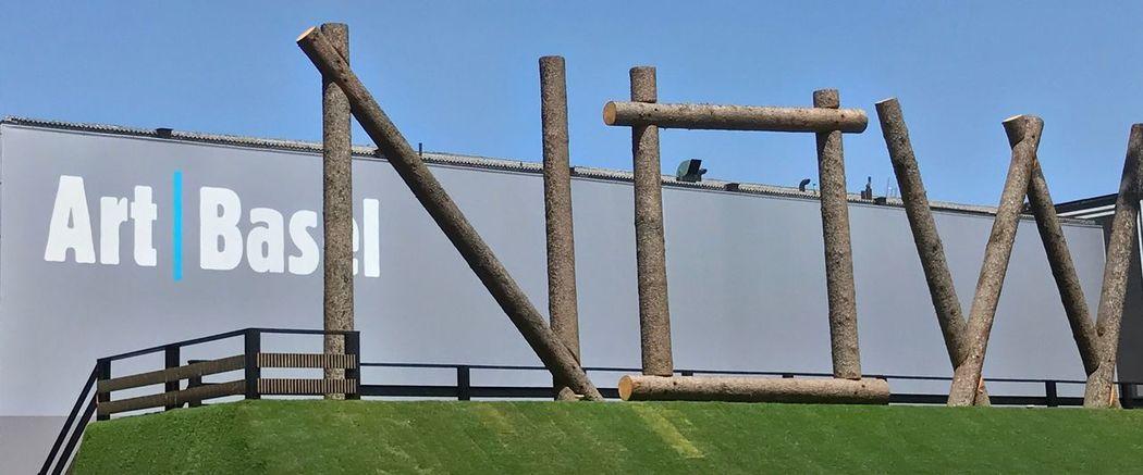 Art Basel Art Fair Sculpture Art Installation Outdoor Art