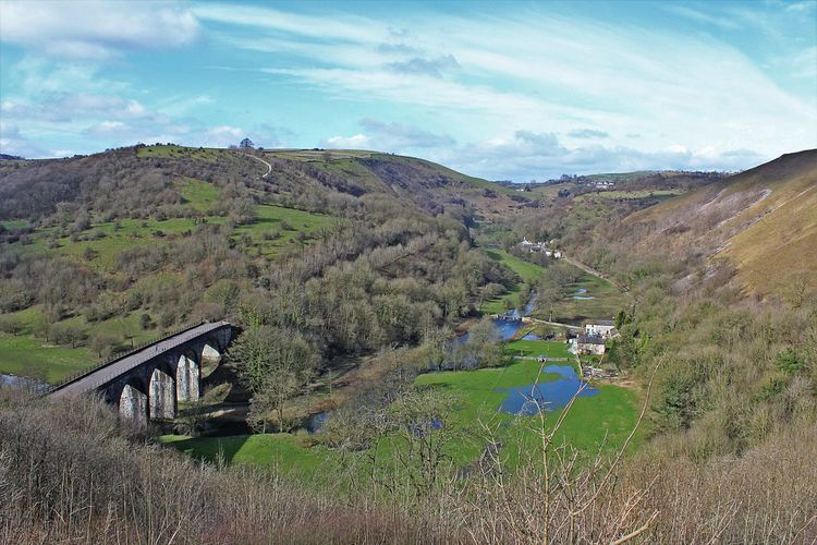 One of the most famous views in the Peak District Canon1300d Canonphotography Derbyshire Disusedrailways Headstone Viaduct Landscape Outdoors Peak District  Tranquil Scene Viaduct Betterlandscapes