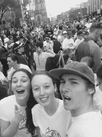 People 5k Run Beautiful Day Running Fun Hello World Monochrome Quality Time Enjoying Life