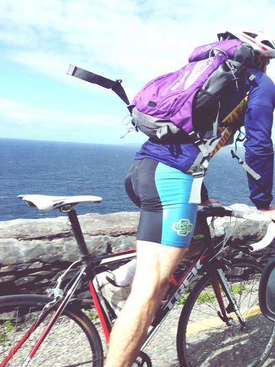 Hanging Out Taking Photos Check This Out Ocean Sea Roadtrip Ocean View Cycling Bicycle Seaside