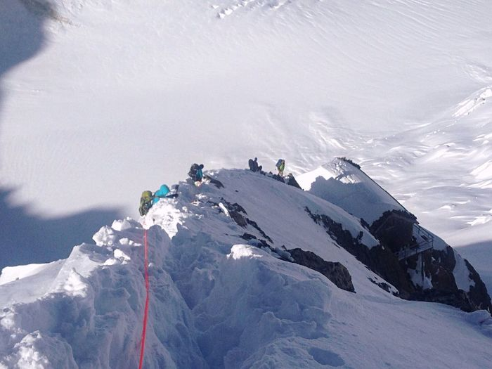 Climbing home! Decent to the Berglihut. School Adventures EyeEm Mountain Shot Adventure Glacier Mountains Switzerland Eyeem Switerzland EyeEm Gallery Eyemphotography Peolpe Climbing Snow In May