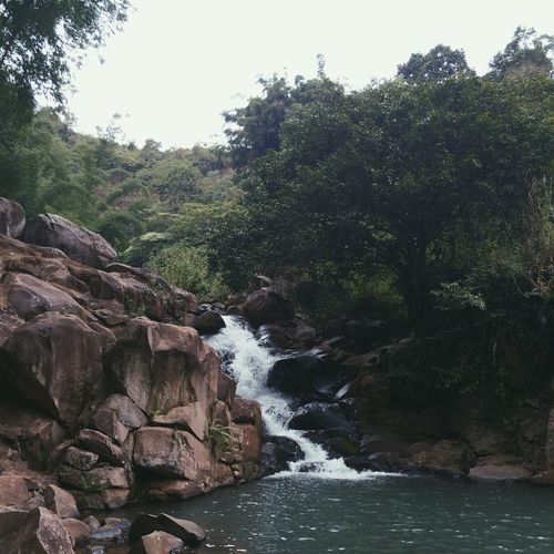 Nature Water Rock - Object Scenics Outdoors Beauty In Nature Landscape Waterfall Power In Nature Day