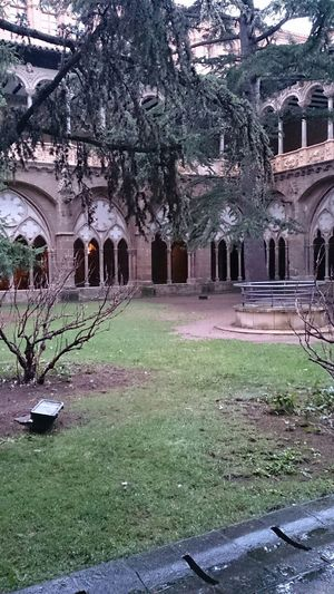 El Claustro del Monasterio De Veruela