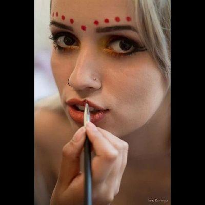 Job! <3 Luescarbemakeup Maquiagemartistica Maquiagem Maquiadora model
