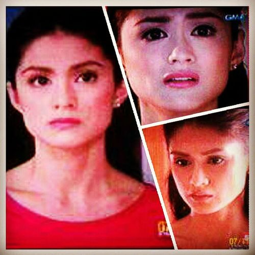 The face! That's when Lally caught in act Vincent and Eric at their very revealing stage. Haha! And it's like OH MY GOD! You really did a great act tonight Ms Carla Abellana. Clap clap clap! Wow! Can't get over for tonights episode. Very intensifying! Bravo! Hahaha! :)) MyHusbandsLoverDay24 Lally Vincent Eric gay homo family love trust honesty lie game play betrayal friendship