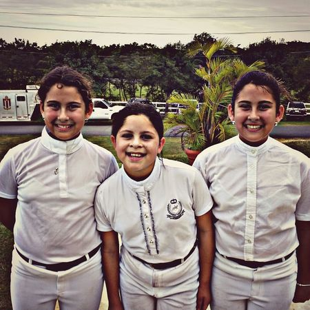 Twins w/ Jessica. People Faces Of EyeEm Kids Children Friends Horses Competition Humacao