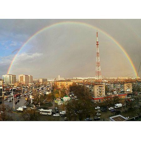 Первая радуга Астрахань небо астраханскоенебо весна радуга небо Дождь облака видизокна Astrakhan YouAst Instrakhan Helloastrakhan My_astrakhan 30my 30rus Instashot