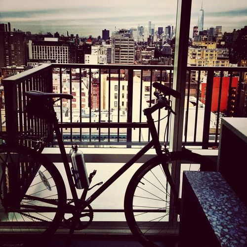 Penthouse View Gramercy NYC Bicycling