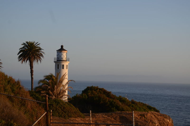 Point Vincente, Palos Verdes, California Point Vincente Clear Sky Lighthouse Nature Outdoors Scenics - Nature Tower Tranquility Tree Water The Great Outdoors - 2018 EyeEm Awards The Traveler - 2018 EyeEm Awards EyeEmNewHere