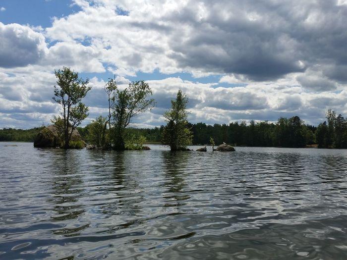 Sweden Lake Islands