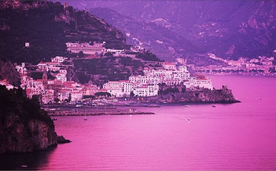Costiera Amalfitana Amalfi Coast Campania Bestsunsets Bestmoment Beautifulsky Sea And Sky Estate2015 PhotoByMe